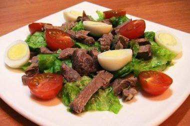 «Черри» салати