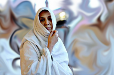 Ёшларга ибрат кўрсатган муслима