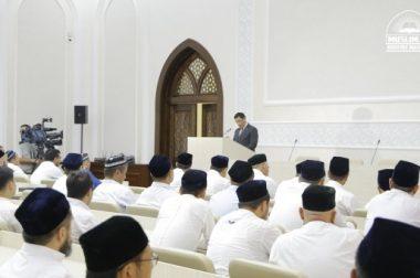 """Ҳаж-2019″ мавсуми бўйича брифинг ўтказилди"