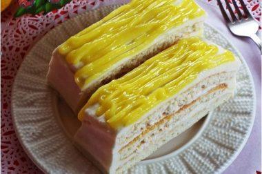 Лимонли пирожний