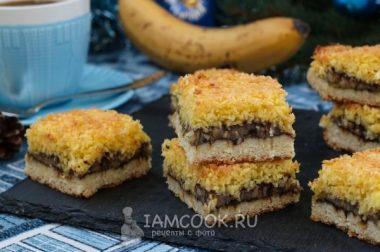 Бананли пирог