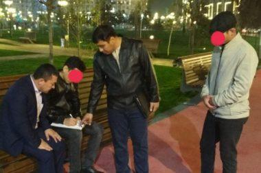 Tashkent City хиёбонида писта пўчоғини ерга ташлаган киши жаримага тортилди