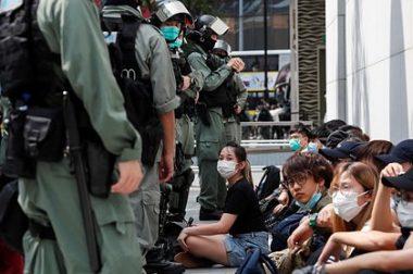 Гонконг можароси: Хитой АҚШга қарши сиёсат олиб бормоқда